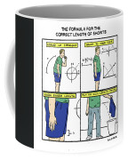 Correct Length Of Shorts Coffee Mug