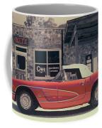 Corvette Cafe - C1 - Vintage Film Coffee Mug