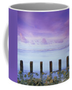 Cotton Candy Skies Over The Sea Coffee Mug