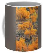 Cottonwoods In Autumn Coffee Mug by Dustin LeFevre