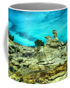 Crazy Rock Formations In New Mexico Coffee Mug