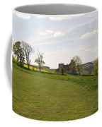 Crighton Castle Ruins And Hills, Midlothian Coffee Mug