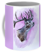 Croatian Stag Coffee Mug by Clyde J Kell
