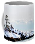Crow Island, Winter Light Coffee Mug by Michael Hubley