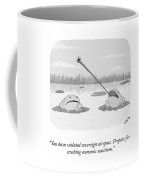 Crushing Economic Sanctions Coffee Mug