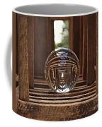 Crystal Ball In Wooden Lanterns Coffee Mug