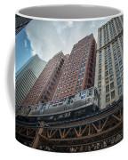 Cta Pink Line Train Coffee Mug