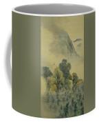 Cuckoo Flying Over New Verdure Coffee Mug