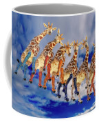 Curious Giraffes  Coffee Mug