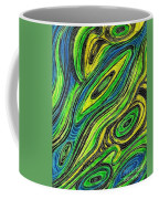 Curved Lines 5 Coffee Mug