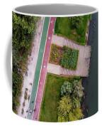 Cycling Path Coffee Mug by Okan YILMAZ