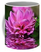 Dahlia On Water Coffee Mug