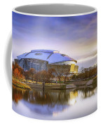 Dallas Cowboys Stadium Arlington Texas Coffee Mug by Robert Bellomy