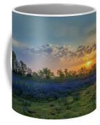 Daybreak In The Land Of Bluebonnets Coffee Mug