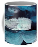 Deep Blue #3 Coffee Mug by Maria Langgle