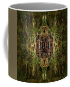 Deep Jungle Temple With Lanterns Coffee Mug