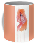 Deep Orange Coffee Mug