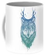 Deer Wolf Coffee Mug