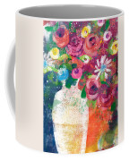 Delightful Bouquet 2- Art By Linda Woods Coffee Mug