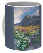 Desert Sand Verbena, Desert Sunflower Coffee Mug