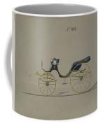 Design For Cabriolet Or Victoria, No. 3696 Coffee Mug