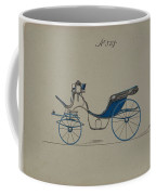 Design For Cabriolet Or Victoria, No. 3719 Brewster And Co. American, New York Coffee Mug