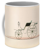 Design For Driving Or Road Phaeton Unnumbered Brewster And Co. American, New York Coffee Mug