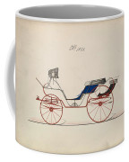 Design For Eight Spring Victoria, No. 1056   B. Wegers American, Active 1850-75 Coffee Mug