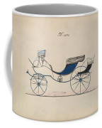 Design For Eight Spring Victoria, No. 1103 Brewster And Co. American, New York Coffee Mug
