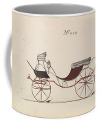 Design For Eight Spring Victoria, No. 1104  1850-74 Coffee Mug
