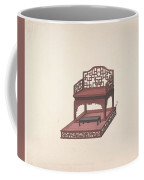Design For Export Furniture  Anonymous, Chinese, 19th Century Coffee Mug