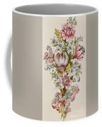 Design For Sprays Of Flowers Coffee Mug