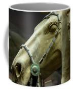 Details Of Head Of Horse From Terra Cotta Warriors, Xian, China Coffee Mug