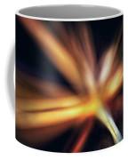 Dill Flower Abstract Coffee Mug