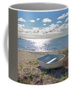 Dinghy On A Sunny Beach Coffee Mug