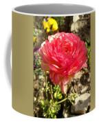 Double Coloured Rose Coffee Mug