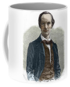 Drawing Of Charles Baudelaire Coffee Mug