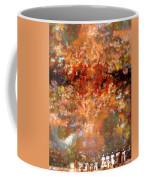 Drummers In A Leaf Storm Coffee Mug by Wayne King