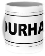Durham City Nameplate Coffee Mug