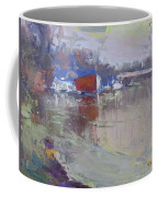Dusk At Tonawanda Canal Coffee Mug