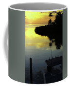 Dusky At Sunset, And A Palm Tree Coffee Mug