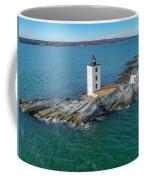 Dutch Island Lighthouse  Coffee Mug by Michael Hughes