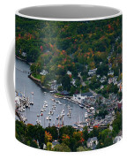 Early Fall Colors Of Camden Maine Coffee Mug by Jeff Folger