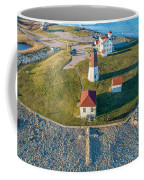 Easter At Point Judith  Coffee Mug by Michael Hughes