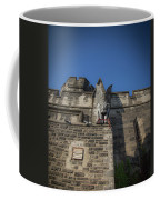 Eastern State And The Gargoyle Coffee Mug by Lora J Wilson