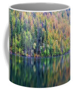Echo Lake Autumn Shore Coffee Mug