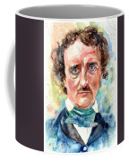 Edgar Allan Poe Portrait Coffee Mug