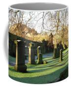 Edinburgh Castle From Blackfriars In Winter Coffee Mug