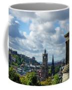 Edinburgh Castle From Calton Hill Coffee Mug