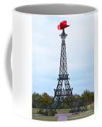 Eiffel Tower In Paris Texas Coffee Mug